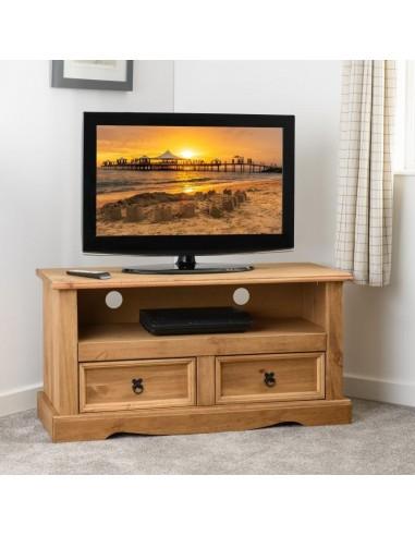 Genoa 2 Drawer Flat Screen Tv Unit Dwp, Flat Screen Tv Furniture